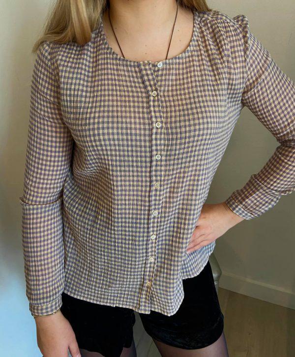 blouse-vichy