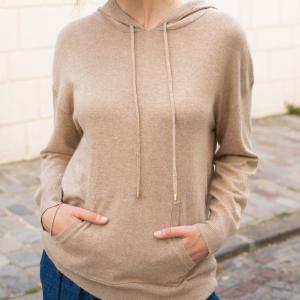 Sweat-shirt Zella (beige chiné) – La petite étoile