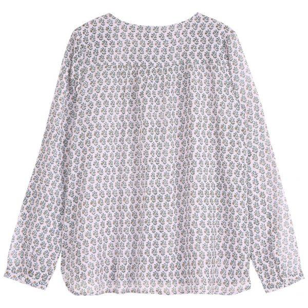 blouse paquerett parme dos