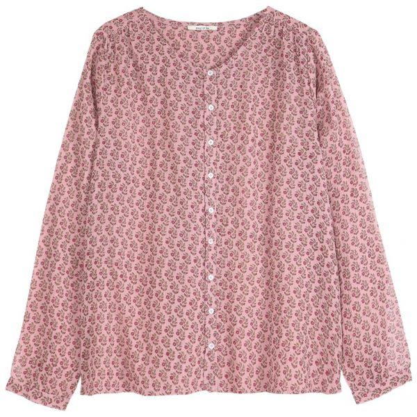 blouse paquerette rose