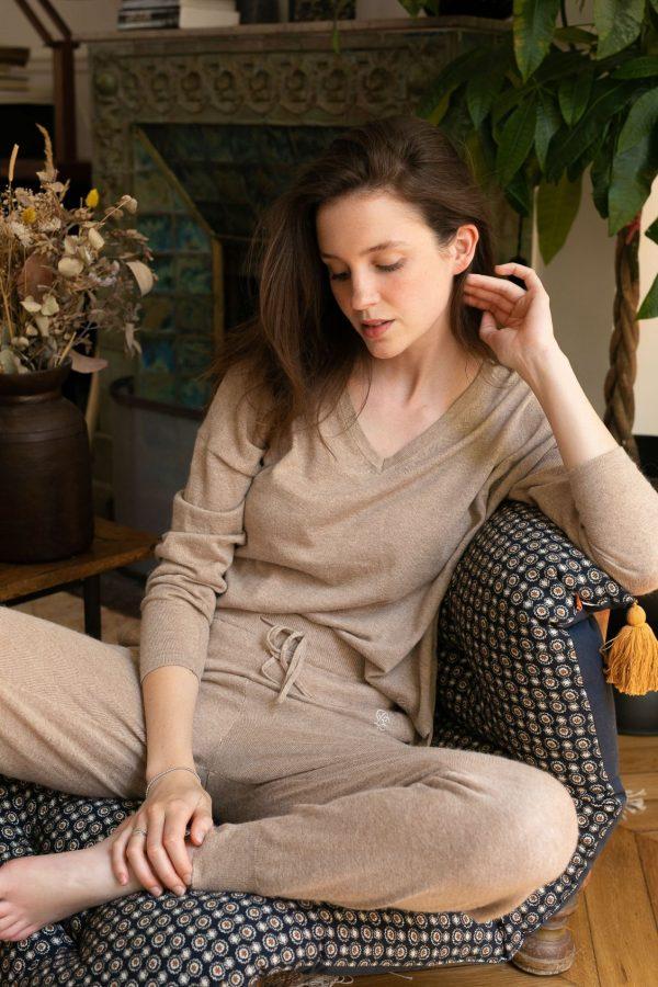 pantalon-mercure-beige-chine