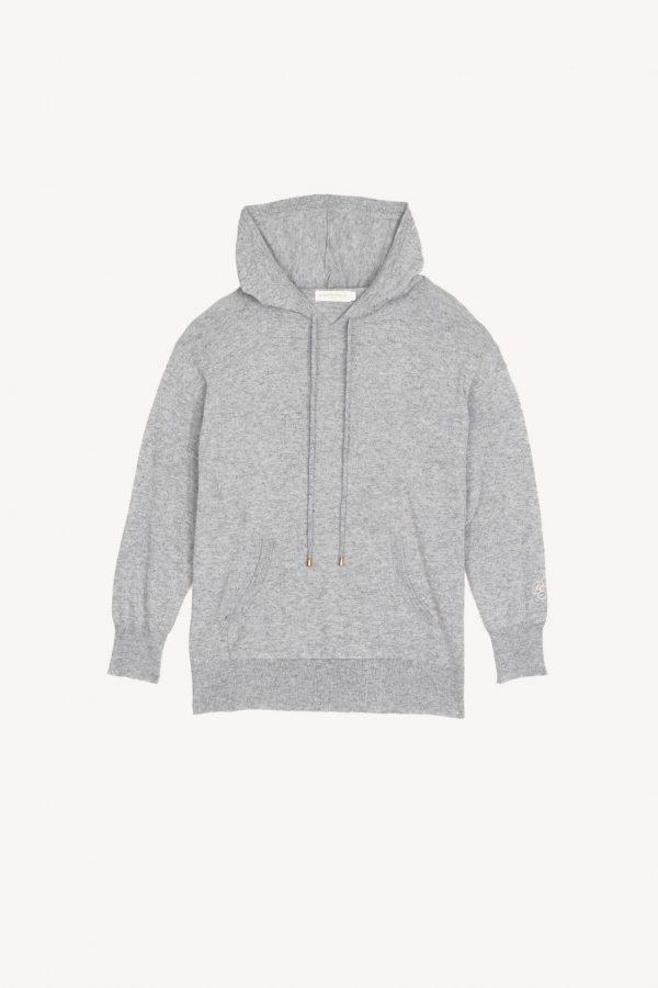 sweat shirt zella gris chine aplat